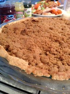 Awesome Gluten Free Apple Pie With Crumble Topping. Photo by ChantDeLaJoie