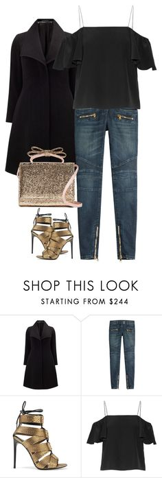 """""""Let's roll out"""" by kiara-tuggle ❤ liked on Polyvore featuring Studio 8, Balmain, Tom Ford, Fendi and RED Valentino"""
