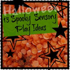Creative Playhouse: 13 Halloween Sensory Play Ideas