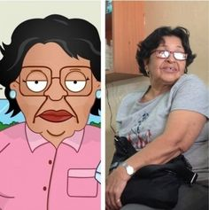 13 Real Life People Who Look Like Cartoon Characters