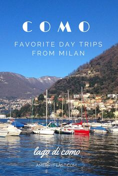 Como {Favorite Day Trips from Milan} Escape the gray winter days of Milan and day trip to the town of Como, on Lago di Como. Winter is a perfect time to visit any of the towns along Lake Como if you like to hang out with the locals. It has a relaxed, easy vibe about it, and in the winter, you will most likely be the only tourist in town. // www.amerryfeast.com Click through to read more or pin and save for later!