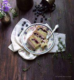 tangled up in blue High Rise cake | une gamine dans la cuisine