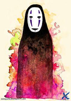 Spirited Away - Kaonashi - A viagem de Chihiro
