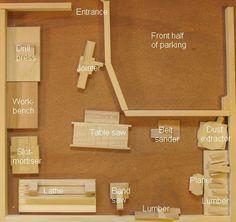 92 Models Of The Best Garage Workshop Organization 14 - homydezign Woodworking Workshop Layout, Garage Workshop Plans, Garage Workshop Organization, Basement Workshop, Workshop Storage, Home Workshop, Woodworking Plans, Workshop Ideas, Organization Ideas