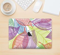 """The Seamless Color Leaves Skin Kit for the 12"""" Apple MacBook"""