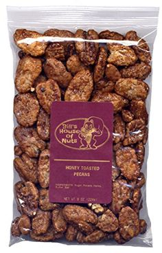 Honey Toasted Pecans - Light, Fresh, Crunchy, and Delicat...