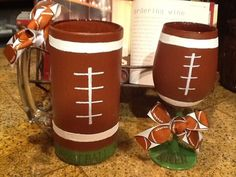 Football King Beer Mug or  Football Queen wine glass