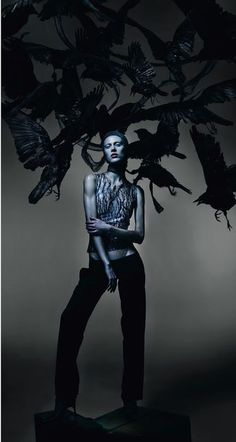 Nick Knight Captures 'McQueen' Fashion Ghosts For AnOther Magazine Spring/Summer2015 - 0- News for Women, Fashion & Style, Women's Rights - Women's Fashion & Lifestyle News From Anne of Carversville