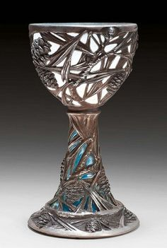 Lalique  chalice goblet 1902 |...want for my amateur magic hour