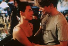 """You were hoping to get a goodnight kiss?"" ""I was hoping to get goodnight laid."" —Matt Damon, Good Will Hunting"