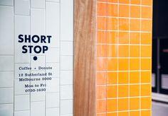 Shortstop Coffee & Donuts - branding by Beyond the Pixels