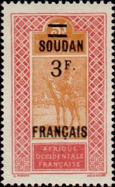 1927: Stamp of Upper Senegal & Niger (צרפתיות, מושבות ושטחים) (Sudan) Yt:FR-SU 50,Mi:FR-SU 57,Sn:FR-SU 58