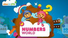 NICK Jr. LEAP - Number World