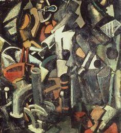 Sironi - L'atelier delle meraviglie (1919)