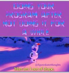 Funny ice figure skating meme