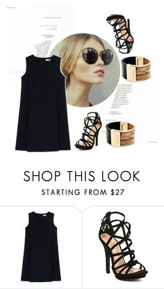 """""""Untitled #36"""" by florirr ❤ liked on Polyvore featuring Jil Sander, Michael Kors, women's clothing, women, female, woman, misses and juniors"""