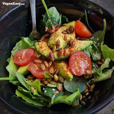 Toasted Pepita Salad -VeganEasy.org