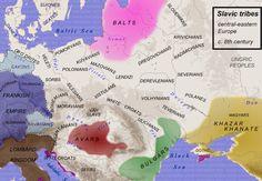 settlement of the Slavs in Europe ∇ 1,2´