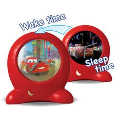 Disney Pixar Cars Go Glow Clock