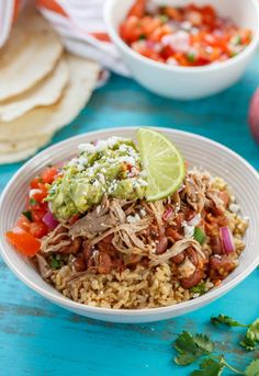 Even better than Chipotle's Burrito Bowl. An easy rendition that's quick and easy to make at home