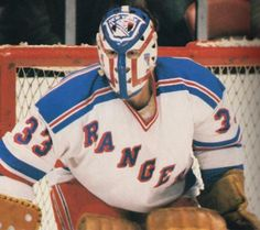 New York Rangers goaltender Doug Soetaert Hockey Helmet, Hockey Goalie, Hockey Players, Rangers Hockey, Ice Hockey Teams, Hockey Girls, Hockey Mom, Boys, Ranger Sport