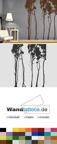 Wandtattoo Laubbäume als Idee zur individuellen Wandgestaltung. Einfach Lieblingsfarbe und Größe auswählen. Weitere kreative Anregungen von Wandtattoos.de hier entdecken!