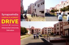 """An exclusive campus recruitment Drive by """"SynapseIndia"""" was conducted at Uttaranchal University, Dehradun on 16th October 2016. Final year students pursuing their B.Tech(CSE & IT) and MBA appeared to SynapseIndia's campus placement drive. Our team had interactions with students and college staff and it was pleasure to indulge into like-minded discussion with them. We'd like to take a moments and thank the whole staff for making nice arrangements for the drive."""