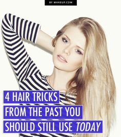 Sometimes the old ways are the best! Here are some old fashioned hair care tips that will still work wonders for you today.