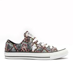 Converse Womens Chuck Taylor All Star Ox Snake Trainer | Multicolour | Footasylum