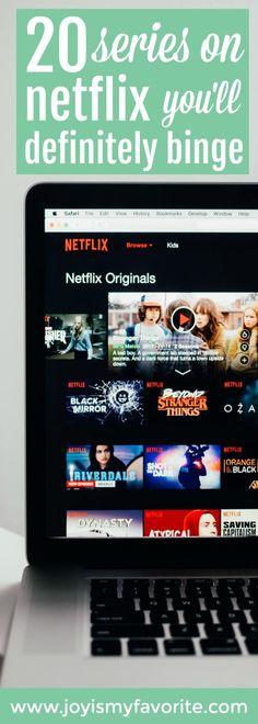 Netflix Series You'll Definitely Binge