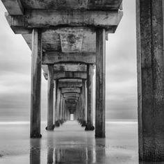 """Scripps Pier in La Jolla, California""  Mark Martinez (San Diego, CA)Photographed September 01, 2011, La Jolla, California  Photo of the Day | Arts & Culture | Smithsonian Magazine"