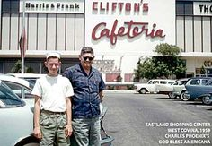 CLIFTON'S CAFETERIA, WEST COVINA, CALIF. 1959 by A Box of Pictures, via Flickr