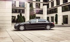 Do Your Wurst: Meet the Armored Mercedes-Maybach S600 Guard - Photo Gallery of Car News from Car and Driver - Car Images - Car and Driver