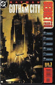 Batman Gotham City Secret Files & Origins # 1 DC Comics