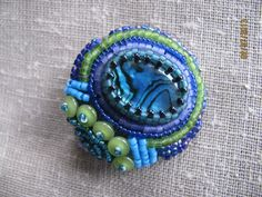 Beaded Pin on Etsy, $20.00