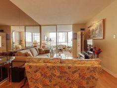 5444 Yonge St Willowdale Toronto Suite 406A Living Room Victoria Boscariol Chestnut Park Real Estate
