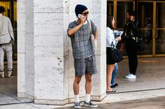 D STYLE: 【分享】S/S 2014 New York Fashion Week Street Style - Men