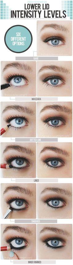 Intensity Levels Eye Makeup Tutorial #eyeshadow #makeup #fashion