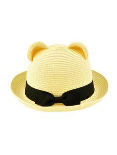 f9cfc51e42d A bowler hat with ears. So. Stinking. Cute. via  Dahlia Fashion