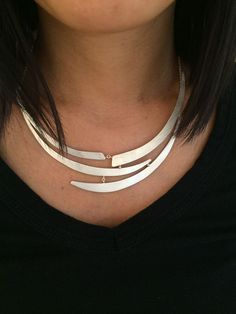 Exclusively designed for the upcoming WAG Gala. This unique sterling silver neck...