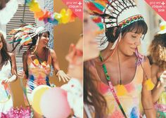 Fantasias de carnaval da Farm  2014 : Indígena