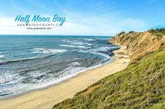 A list of things to do for a coastal adventure in Half Moon Bay, a beautiful city along the Pacific Coast in San Mateo County, California. Stuff To Do, Things To Do, San Mateo County, Half Moon Bay, Pacific Coast, Coastal, California, Adventure, City