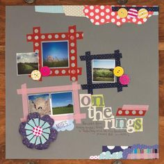On The Rings Scrapbook Page | cre8time.org
