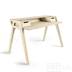 Working desk made of plywood Рабочий стол из фанеры