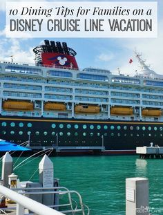 Best Dining Tips for Families on a Disney Cruise Vacation Lia The Travel Pro  www.ivagent.com/nolimitztravel