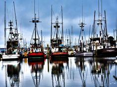 Humboldt Bay - Eureka, California. http://bwcountryinnfortuna.com/