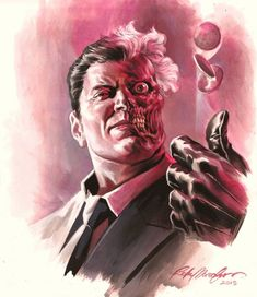 Two-Face by Felipe Massafera
