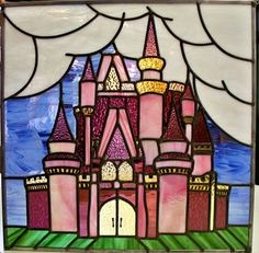 Castle window. Created by Glass Castles, Nacogdoches, Texas
