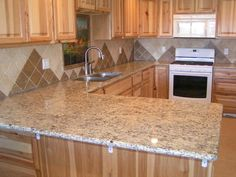 tile kitchen countertops cupboards kitchen and bath when trends attack granite tile counters. Black Bedroom Furniture Sets. Home Design Ideas