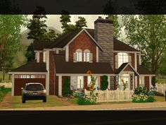 Hi ! This familial house is perfect for a family of about 5 Sims. Found in TSR Category 'Sims 3 Residential Lots'